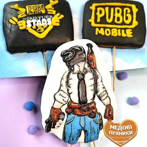 """Пряничний Набір """"PUBG mobile"""""""