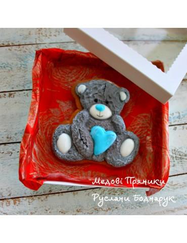 Пряник Мішка Тедді з серцем