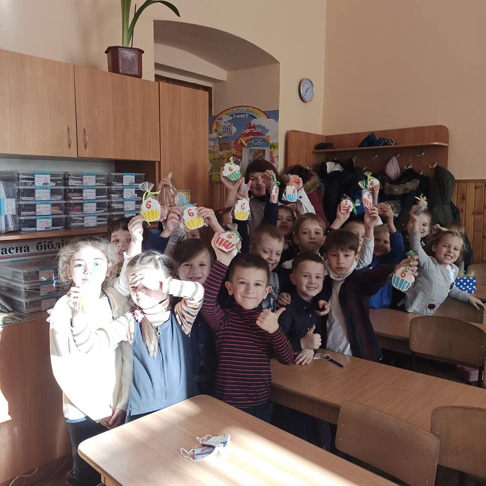 пряники дітям в школу отзыв