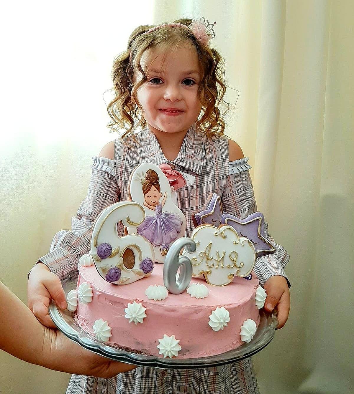 пряник балерина в торт для дівчинки отзыв